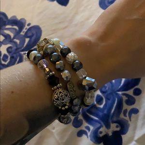 Jewelry - 3 beaded bracelets